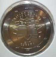 """Spanje 2 euro 2007 """"Verdrag van Rome"""""""