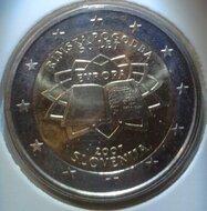 """Slovenië 2 euro 2007 """"Verdrag van Rome"""""""