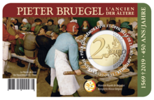 "België 2 Euro 2019 ""450 Jaar Bruegel"", BU, Fr."