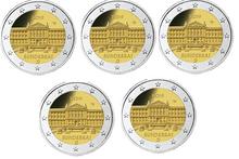 "Duitsland 2 Euro 2019 ""Bundesrat"", UNC, 5 letters (levering eind februari)"