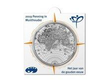 """Nederland Penning 2019 HCF in munthouder """"Gouden eeuw"""", BU"""