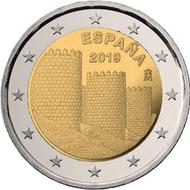 """Spanje 2 euro 2019 """"Avila"""", UNC"""