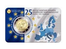 "België 2 Euro 2019 ""EMI"", in coincard Frans"