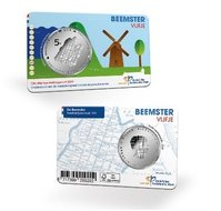 """Nederland 5 Euro 2019 """"Beemster"""", UNC in coincard"""