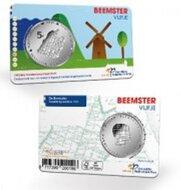 "Nederland 5 Euro 2019 ""Beemster"", BU in coincard"
