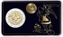 "Frankrijk 2 Euro 2019 ""Asterix"", BU in coincard"
