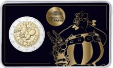 """Frankrijk 2 Euro 2019 """"Asterix en Obelix"""", BU in coincard"""