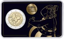 """Frankrijk 2 Euro 2019 """"Obelix"""", BU in coincard"""