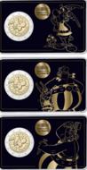 "Frankrijk 2 Euro 2019 ""Asterix"", BU in coincard 3 versies"