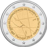 "Portugal 2 euro 2019 ""Madeira"" UNC"