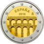 Spanje-2-euro-2016-Segovia-UNC