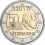 Luxemburg-2-Euro-2017-Vrijwillig-leger-UNC