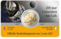 België-2-Euro-2017-Universiteit-van-Luik-BU-in-coincard-Nederlands