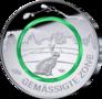 Duitsland-5-Euro-2019-Gematigde-Zone-UNC-met-Groene-polymeerring-letterkeuze