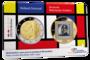 """Nederland 2 Euro 2020 """"Piet Mondriaan"""", BU in coincard_"""