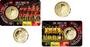 """België 2½ Euro 2018 """"WK Voetbal"""", BU in coincard Waalse, uitgave in juni_9"""