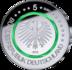 """Duitsland 5 Euro 2019 """"Gematigde Zone"""", UNC, met Groene polymeerring letterkeuze_10"""