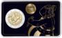 "Frankrijk 2 Euro 2019 ""Asterix"", BU in coincard 3 versies_"